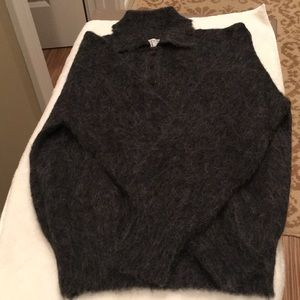 Vintage Dotty Mann Of Cleveland Mohair Sweater